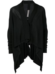 Rick Owens Draped Cardigan Black