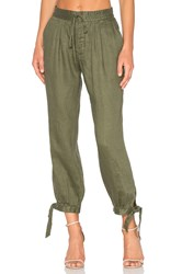 Frame Denim Drawstring Pant Army