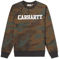 Carhartt College Sweat Green