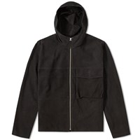 Our Legacy Suede Parka Black