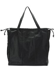 Uma Raquel Davidowicz Leather Guia Tote Bag Black