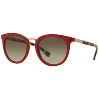 Ralph Lauren Ra5207 Round Sunglasses Red Tortoise