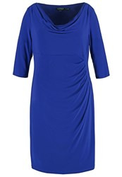 Carleton Cocktail Dress Party Dress Luxe Sapphire Dark Blue