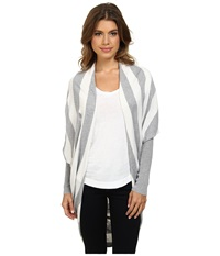 Tart Darla Cardigan Heather Grey Oatmeal Women's Sweater Gray