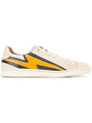 Marc Jacobs 'Lightning Bolt' Low Top Sneakers Nude And Neutrals