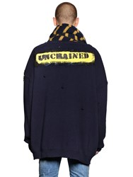 Faith Connexion Embroidered Wool Blend Cardigan