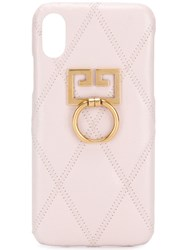 Givenchy Quilted Iphone X Xs Case Pink