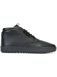Salvatore Ferragamo Classic Hi Top Sneakers Black