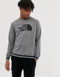 The North Face High Trail Sweatshirt In Gray Gray