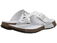 La Plume Cactus White Women's Shoes