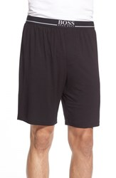 Men's Boss Stretch Modal Lounge Shorts Black