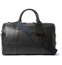 Dunhill Boston Grained Leather Holdall Black