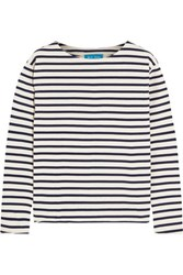 Mih Jeans M.I.H Striped Cotton Jersey Top White