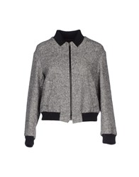Gold Case Coats And Jackets Jackets Women Light Grey