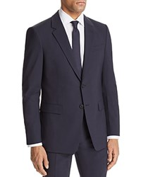 Theory Chambers Slim Fit Suit Separate Sport Coat Navy