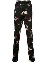 Amiri Floral Embroidered Pleated Trousers 60