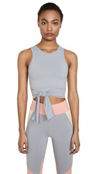 Live The Process Ballet Top Lilac Grey