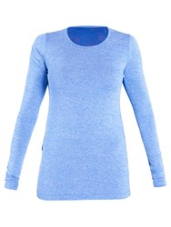 Lole Agnessa Long Sleeve Yoga T Shirt Blue