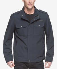 G.H. Bass And Co. Men's Military Inspired Jacket Navy
