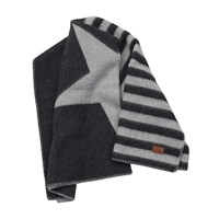 Gant Wool Union Throw 130 X 180 Cm Anthracite