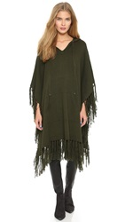 Haute Hippie Endless Summer Poncho Military