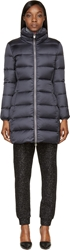 Colmar Deep Purple Quilted Down Coat
