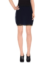 Hoss Intropia Mini Skirts Dark Blue