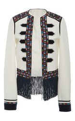 Talitha Zoya Fringed Jacket Multi