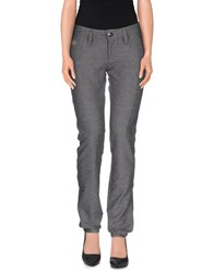 Chiribiri Trousers Casual Trousers Women Grey