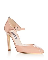 Sarah Jessica Parker Sjp By Campbell Patent Leather Mary Jane Pumps Pink