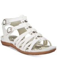 Bare Traps Robbi Gladiator Sandals Women's Shoes White
