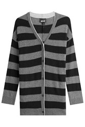 Just Cavalli Striped Cardigan With Wool And Cashmere Gr. S