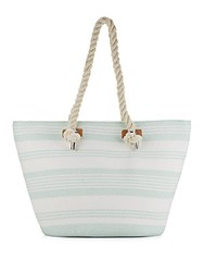 Saks Fifth Avenue Rope Tote Mint