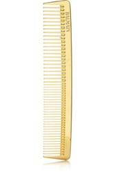 Balmain Paris Hair Couture Gold Plated Cutting Comb One Size