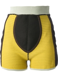 Jean Paul Gaultier Vault Fitted Shorts Brown