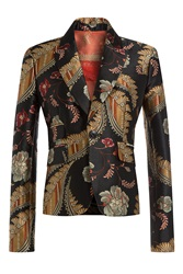Dsquared2 Jacquard Blazer Multicolor