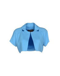 Space Style Concept Couture Blazers Turquoise