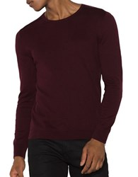 John Varvatos Long Sleeve Cotton Pullover Port