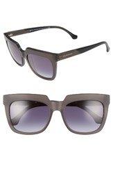 Balenciaga Paris Women's 55Mm Sunglasses Transparent Dark Grey Black Transparent Dark Grey Black