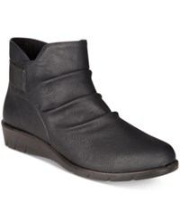 Easy Street Shoes Bounty Ankle Booties Women's Black Matte