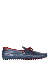 Tod's Ferrari Gommino 122 Tie Leather Driving Shoes