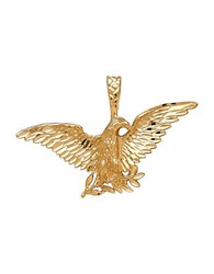 Lord And Taylor 14K Yellow Gold Eagle Pendant