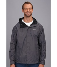 Columbia Watertight Ii Jacket Extended Graphite Men's Coat Gray