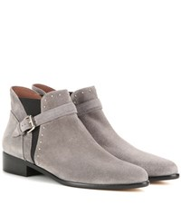Tabitha Simmons Gigi Suede Ankle Boots Grey