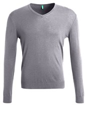 United Colors Of Benetton Jumper Anthracite