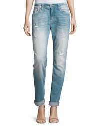 Miss Me Distressed Boyfriend Ankle Jeans Lt 99