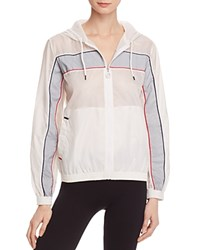 Fila Cassie Wind Jacket White And Silver