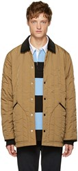 Alexander Wang Brown Quilted Jacket