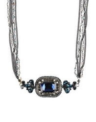 Nur Necklaces Dark Blue