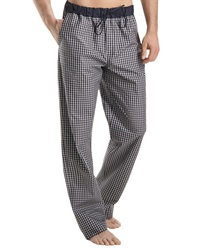 Hanro Night And Day Lounge Pants Black Check Black Check Xx Large
